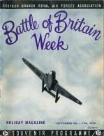 Battle of Britain Week - Souvenir Programme