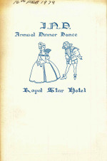 IND Anual Dinner Dance Programme