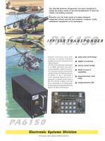 IFF/SSR Transponder, PA6150
