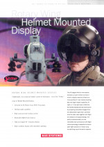 Rotary Wing Helmet Mounted Display