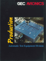 Automatic Test Equipment Division - Production