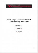 Elliott Flight Automation Limited  A Brief History, 1804- 1985