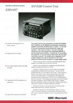IFF/SSR Control Unit, ESD1447