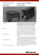 Lightweight IFF/SSR Transponder, ESD446A