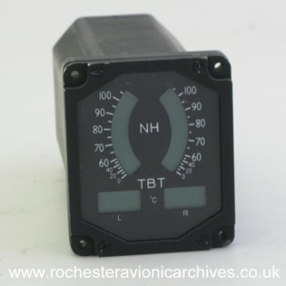 Twin Engine Speed and Temperature Indicator
