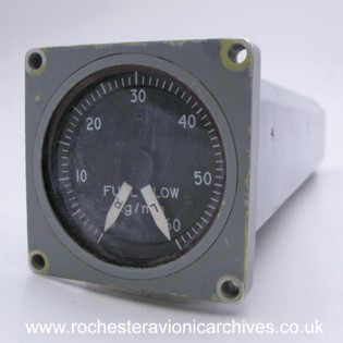 Twin Fuel Flow Rate Indicator