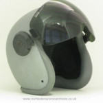 Helmet Shell Visor with Mask