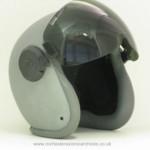 Helmet Shell Visor with Mask