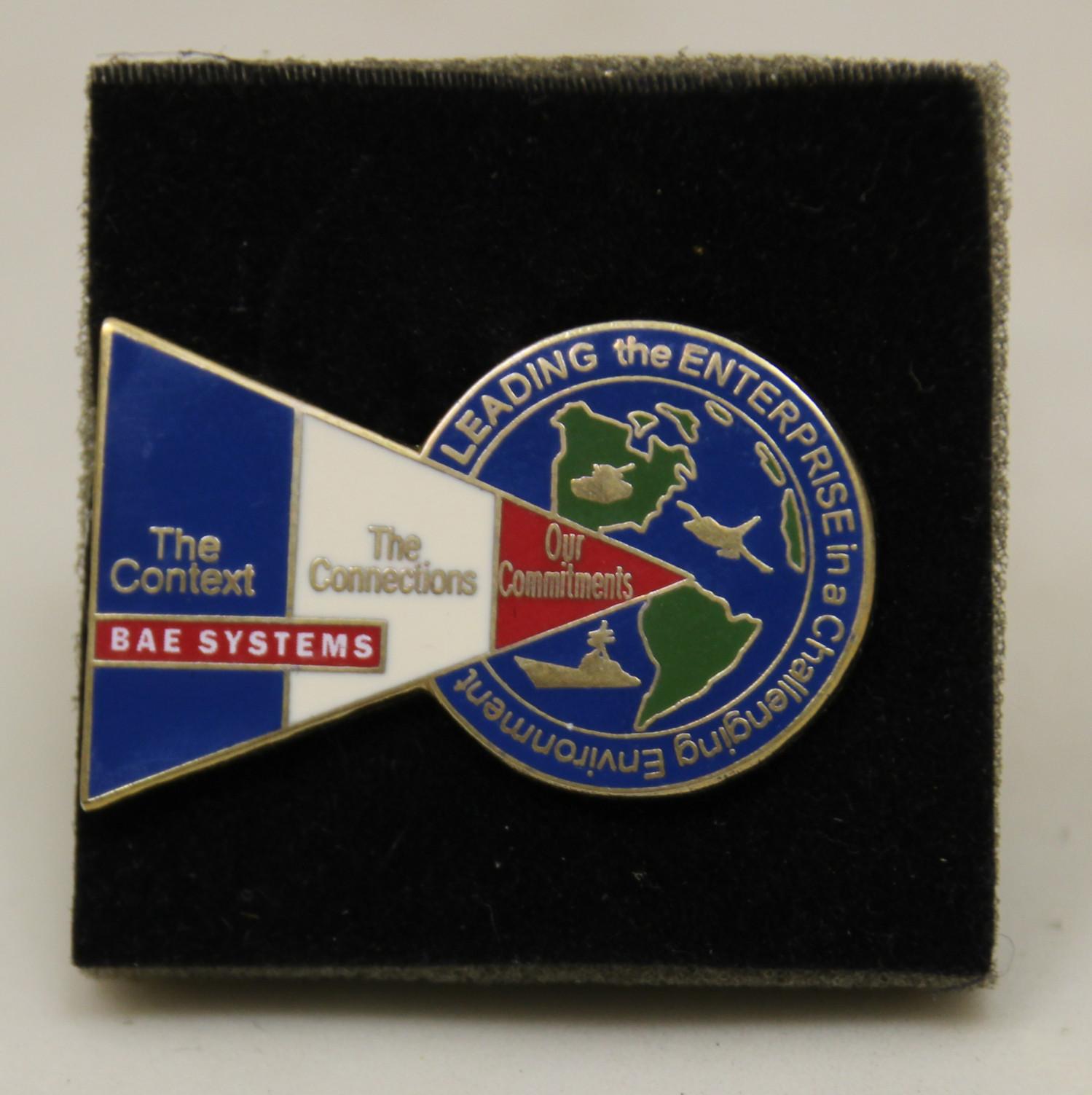 BAE Systems Badge