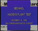 HUD/EVS Flight Tests