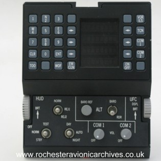 Mirage HUD Up-Front Control Panel