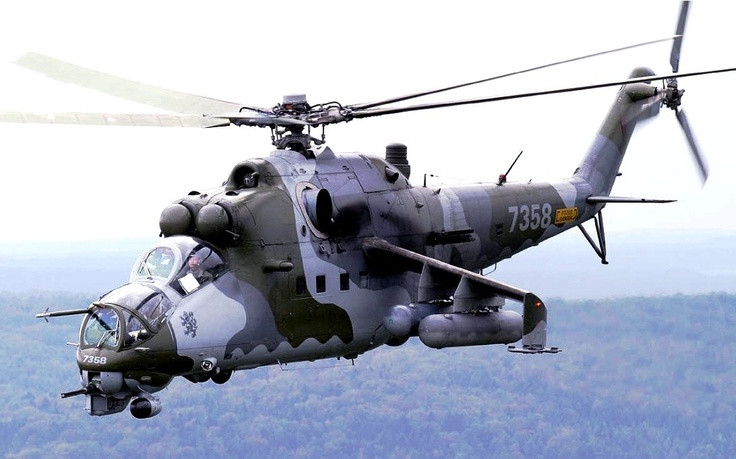 Mil Mi-24D Attack Helicopter