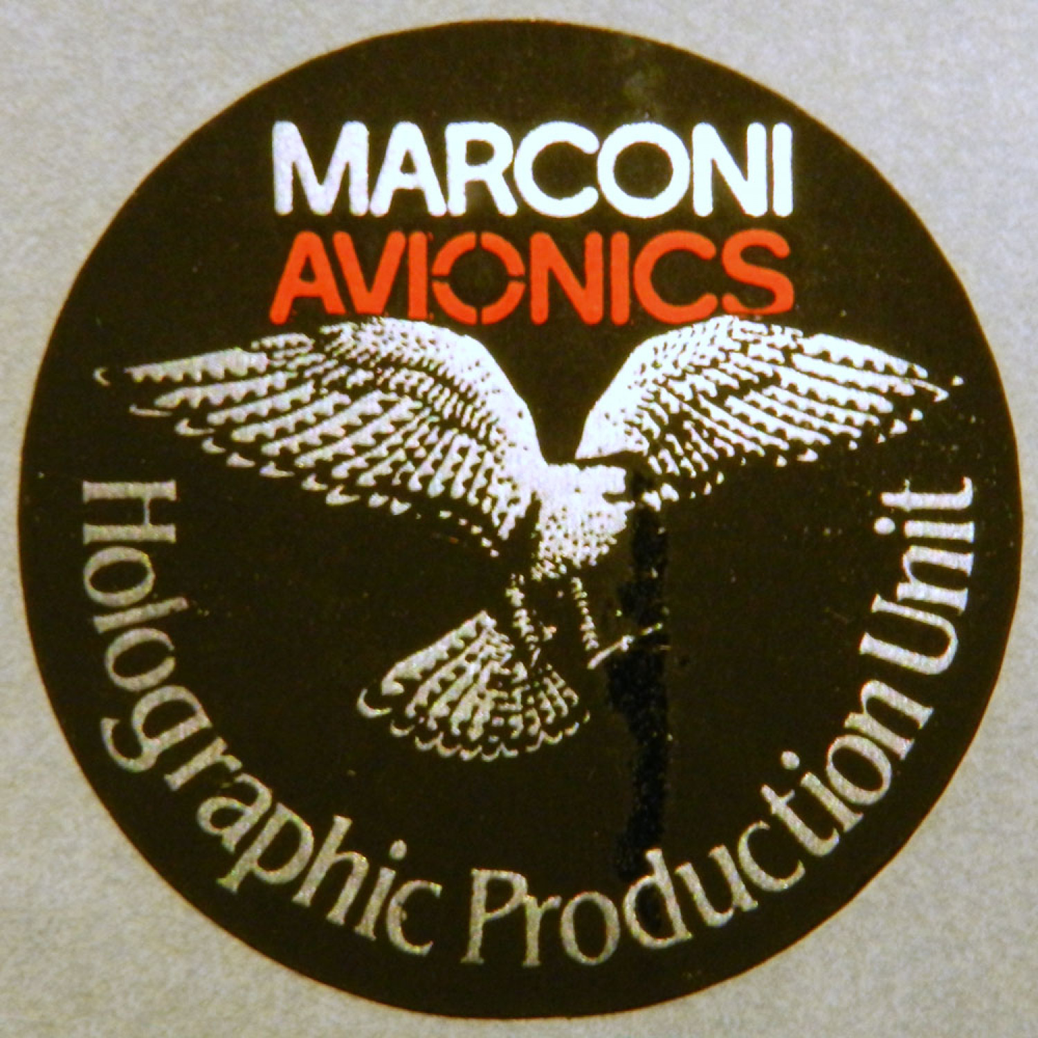 MAv Holographic Production Sticker