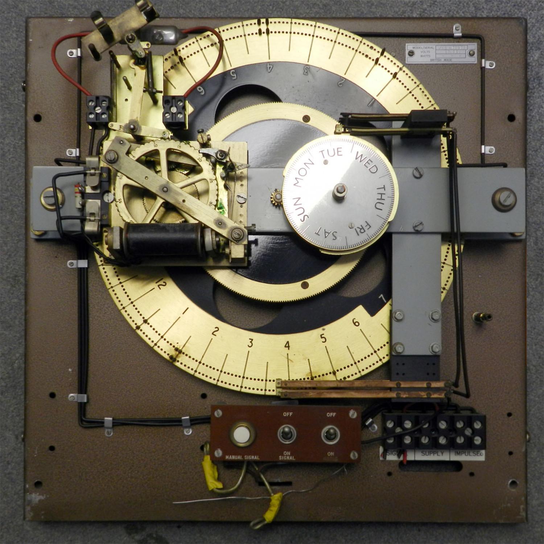 Time Recording Clock Controller