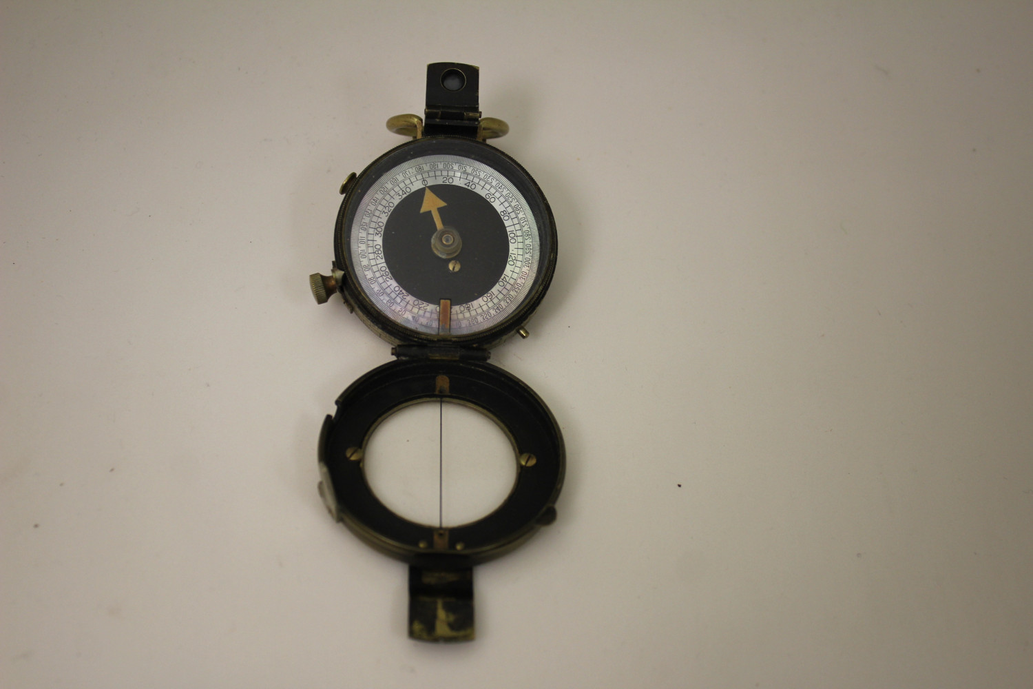 Verners Pattern VIII Prismatic Compass