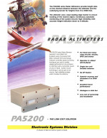 Radar Altimeter, PA5200
