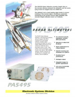 Radar Altimeter.    PA5495