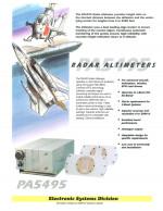 Radar Altimeter, PA5495