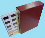 ADD Sales - Burgundy Plastic Slide Case