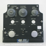 A-7 TRAM HUD Control Panel