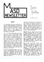 MASD Newsletter - 1988/12