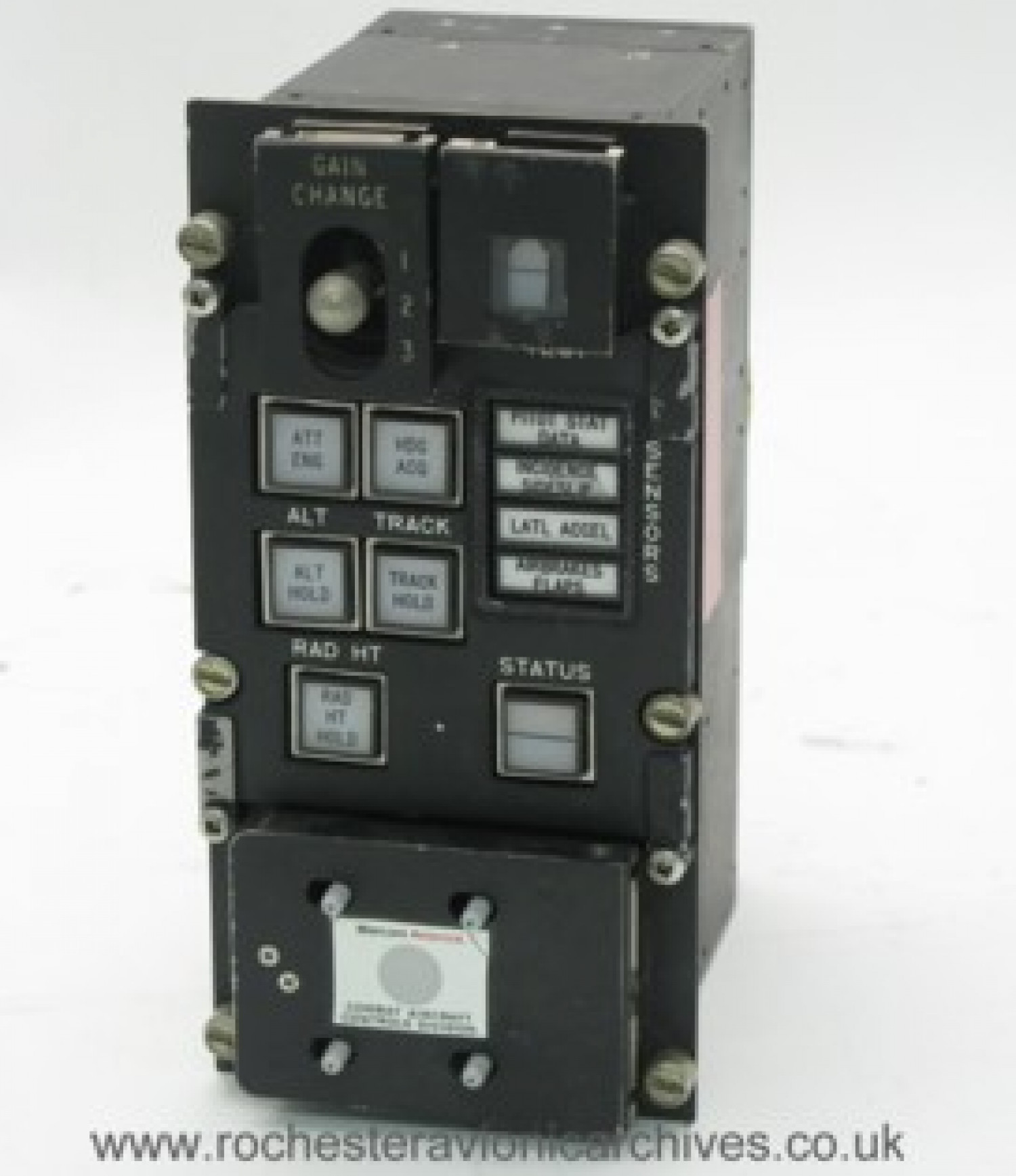 Jaguar Pilot's Control & Switch Panel