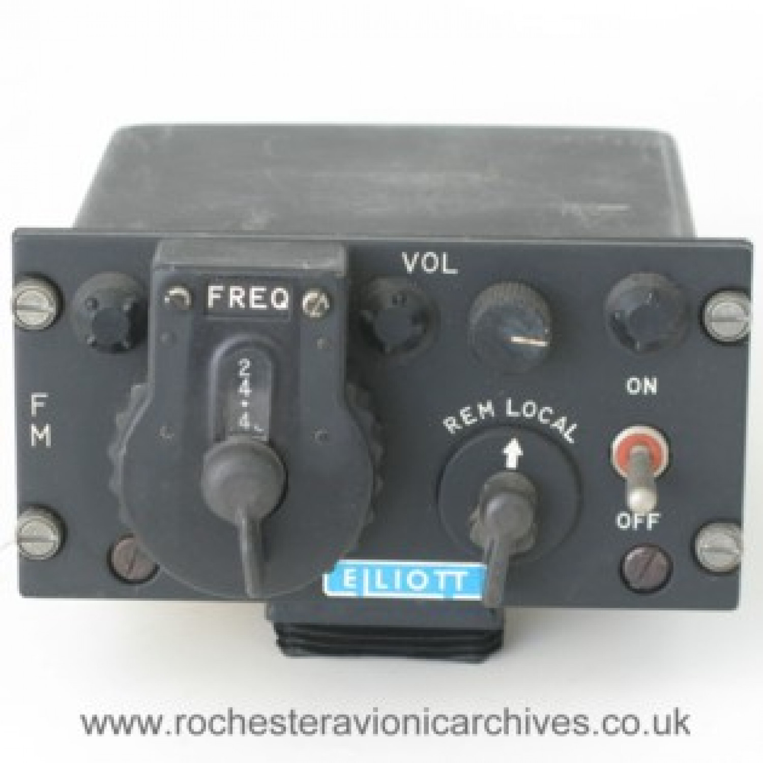 Radio Set, Control Unit