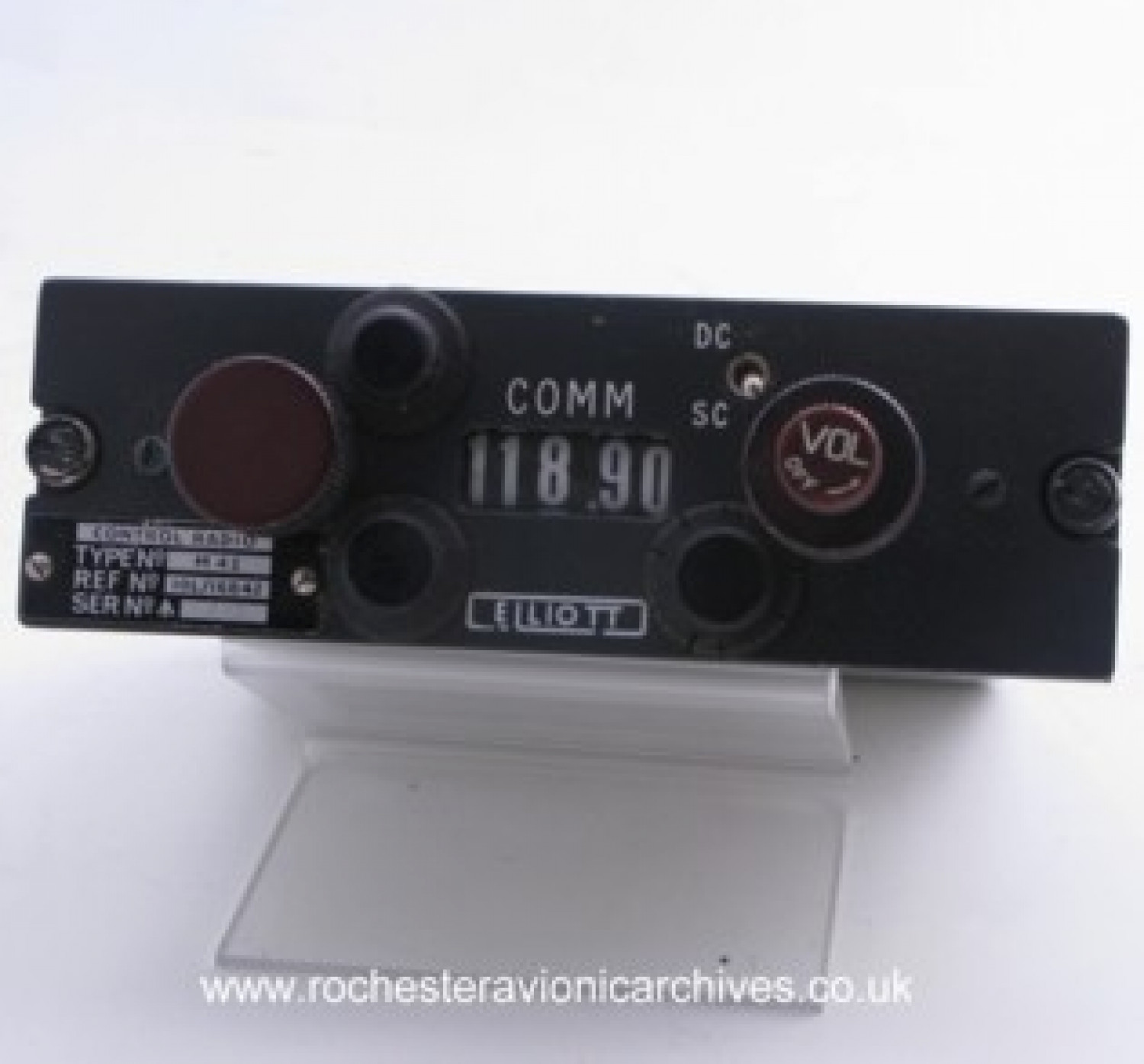 Communication Radio, Control Unit