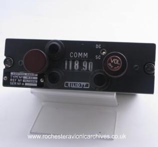 Communication Radio, Control Unit
