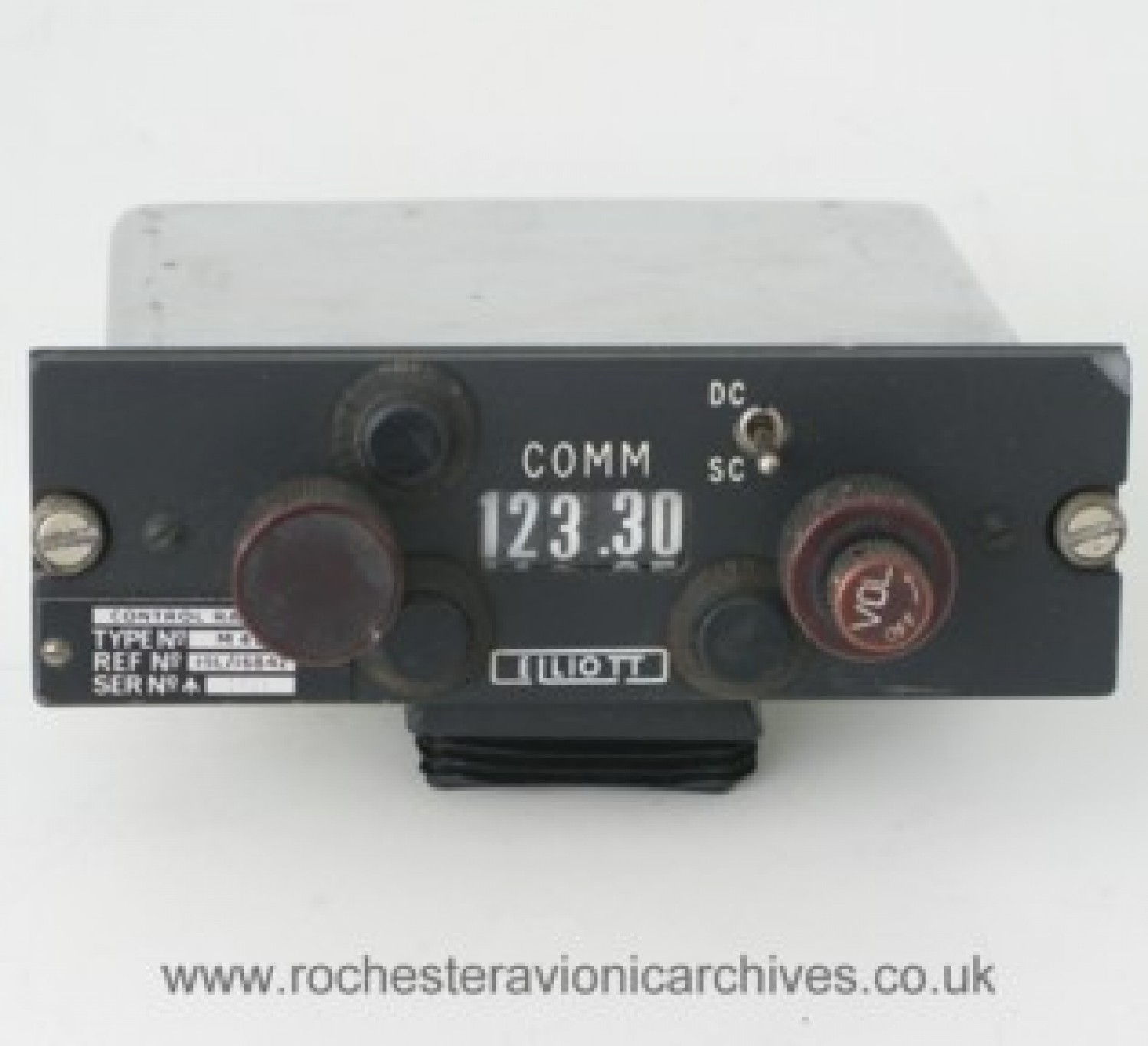 Control Unit.    Radio Frequency Selector