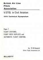 V/STOL in Civil Aviation.