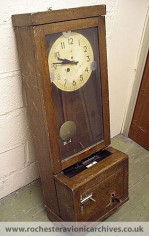 Time Recording Clock