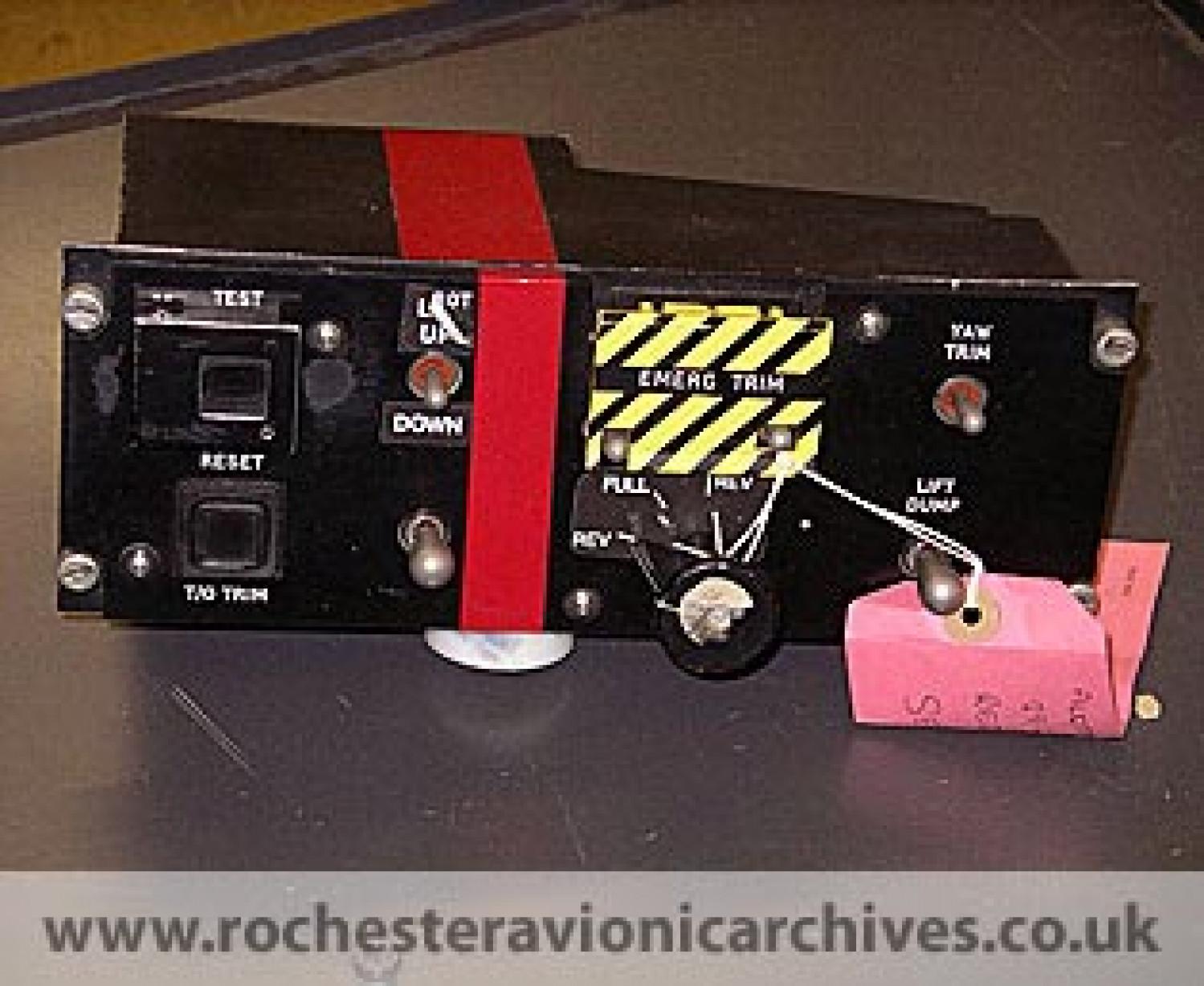 EAP FCC Pilot's Control Unit