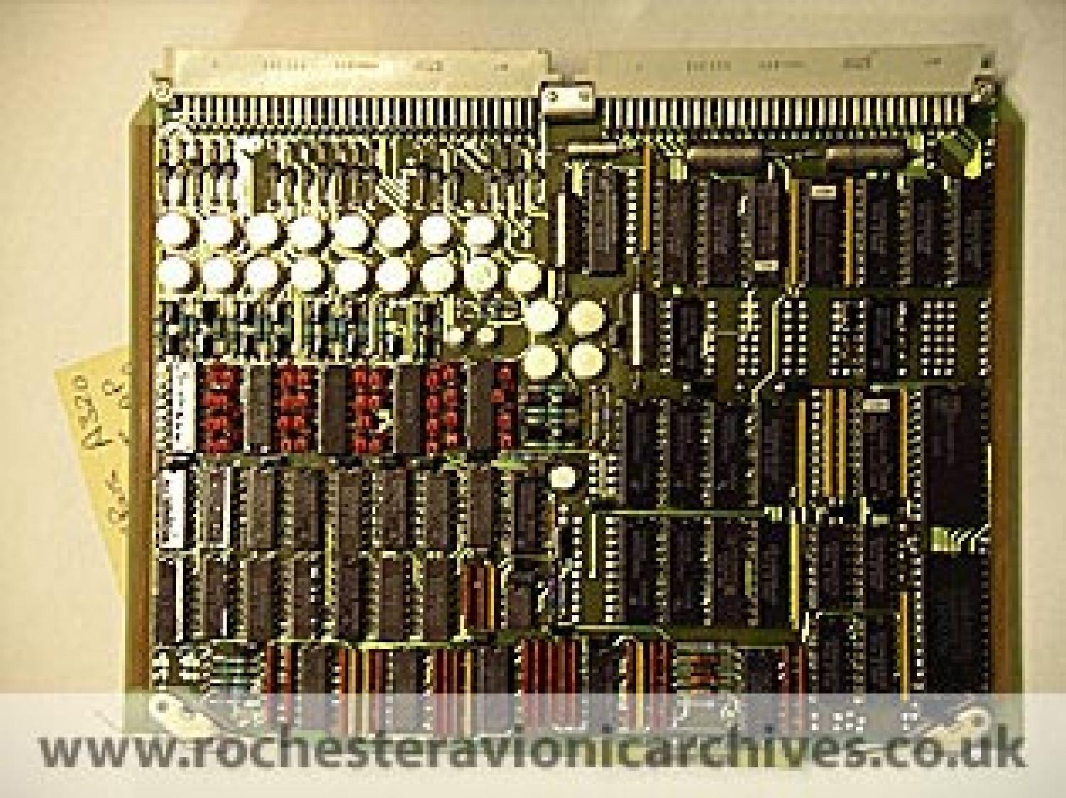 A320 S&FCC 'Output' Circuit Module