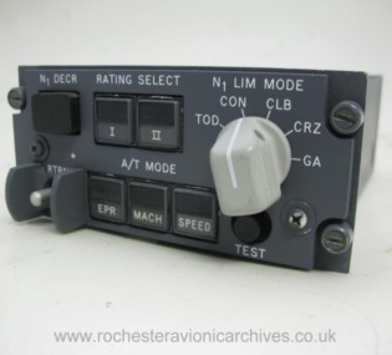Boeing 747 Autothrottle Limit Mode Selector
