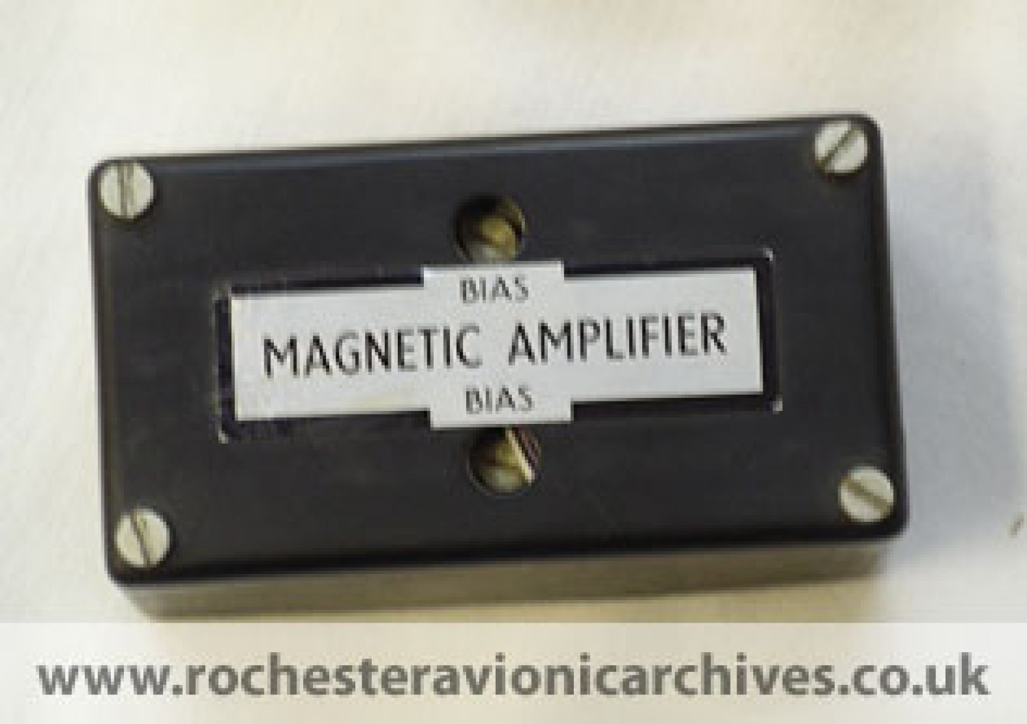 Magnetic Amplifier