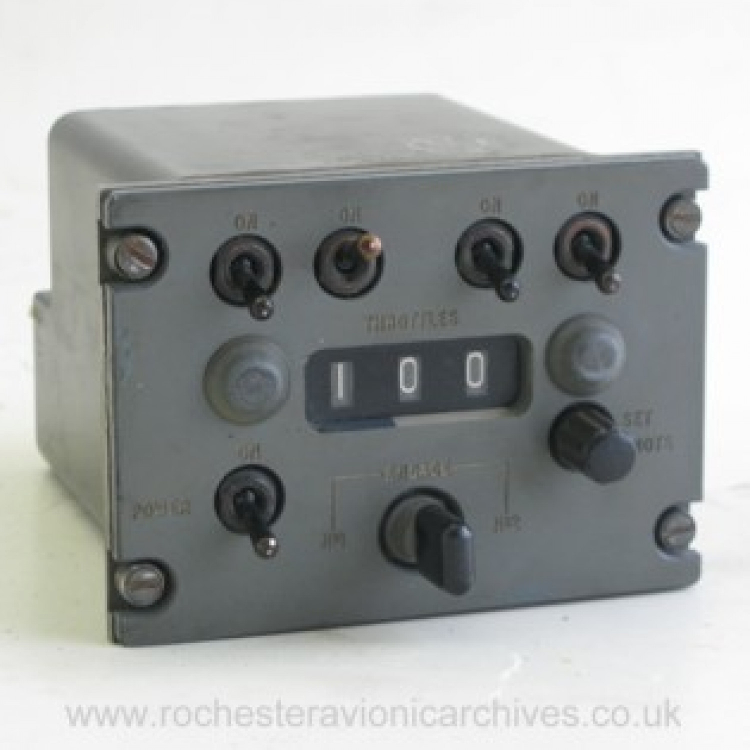 VC10 Autothrottle Control Unit