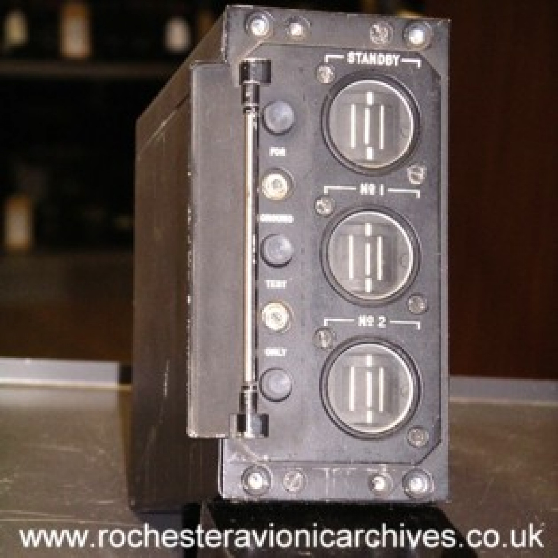 VC10 Triple Yaw Damper Indicator