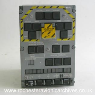 Tornado Weapon Control Panel