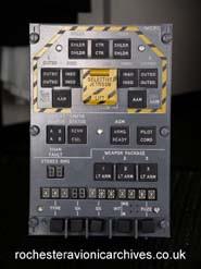 Tornado Weapon Control Panel (space model)