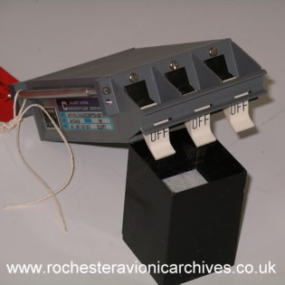 Concorde AFCS Artificial Feel Engage Switch Unit