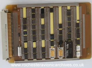 "F-16 HUD ""Symbol Generator A"", Circuit Module"