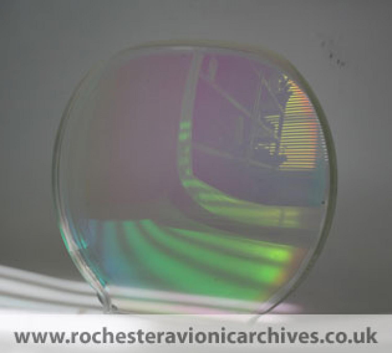 Typhoon HUD Diffractive Combiner Glass