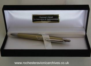 Chairman's Bronze Award Pen for 2004
