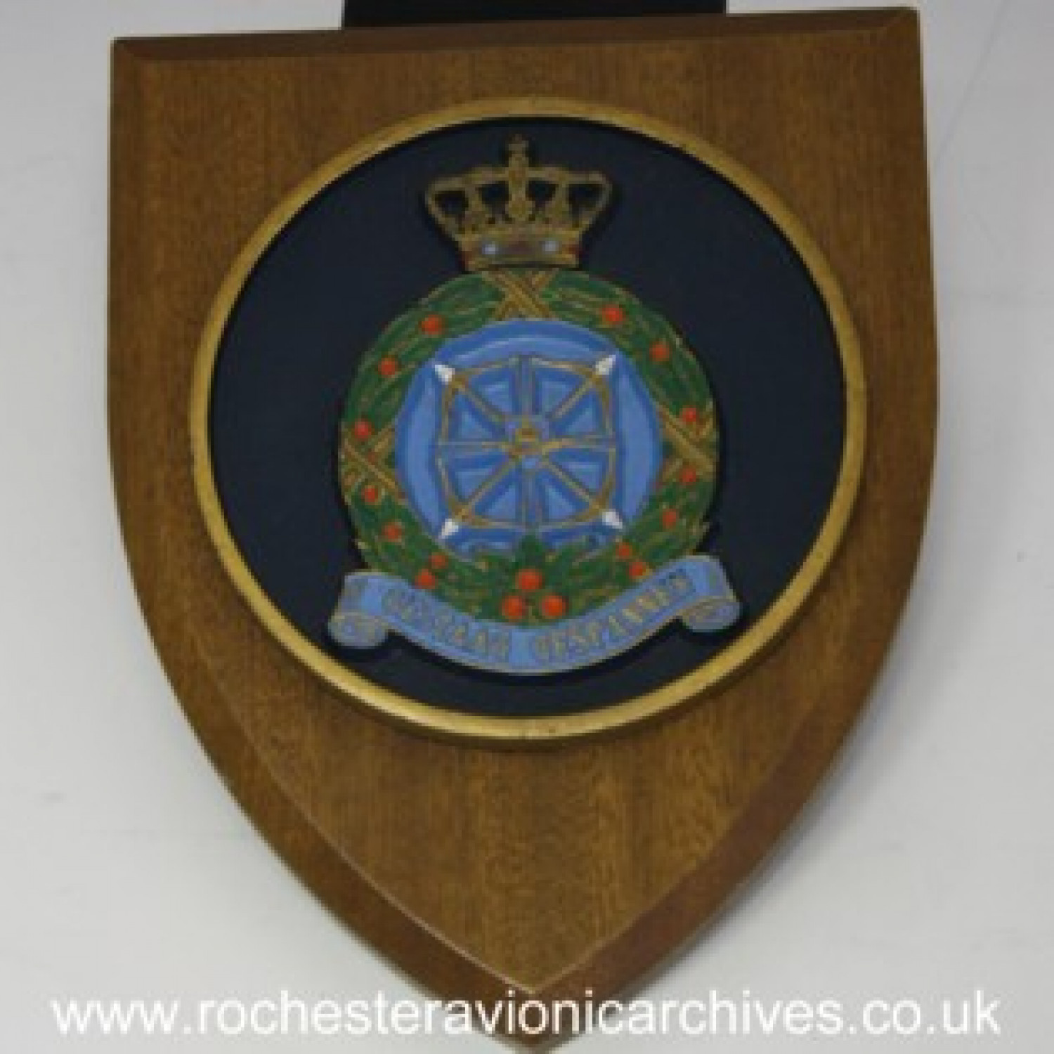 Plaque from RNLAF Volkel Air Base