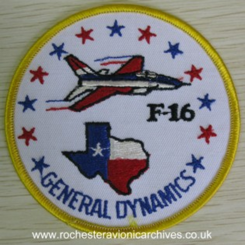 YF-16 Sew-On Badge