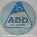 GEC Avionics ADD Beer Mat