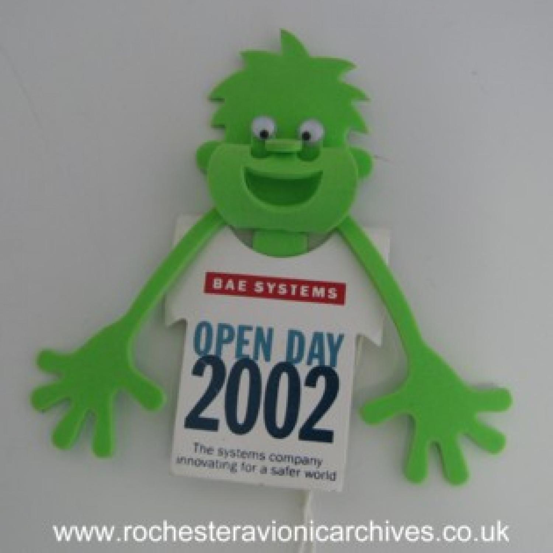 Open Day Memorabilia 2002