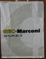 GEC-Marconi Avionics Carrier Bag