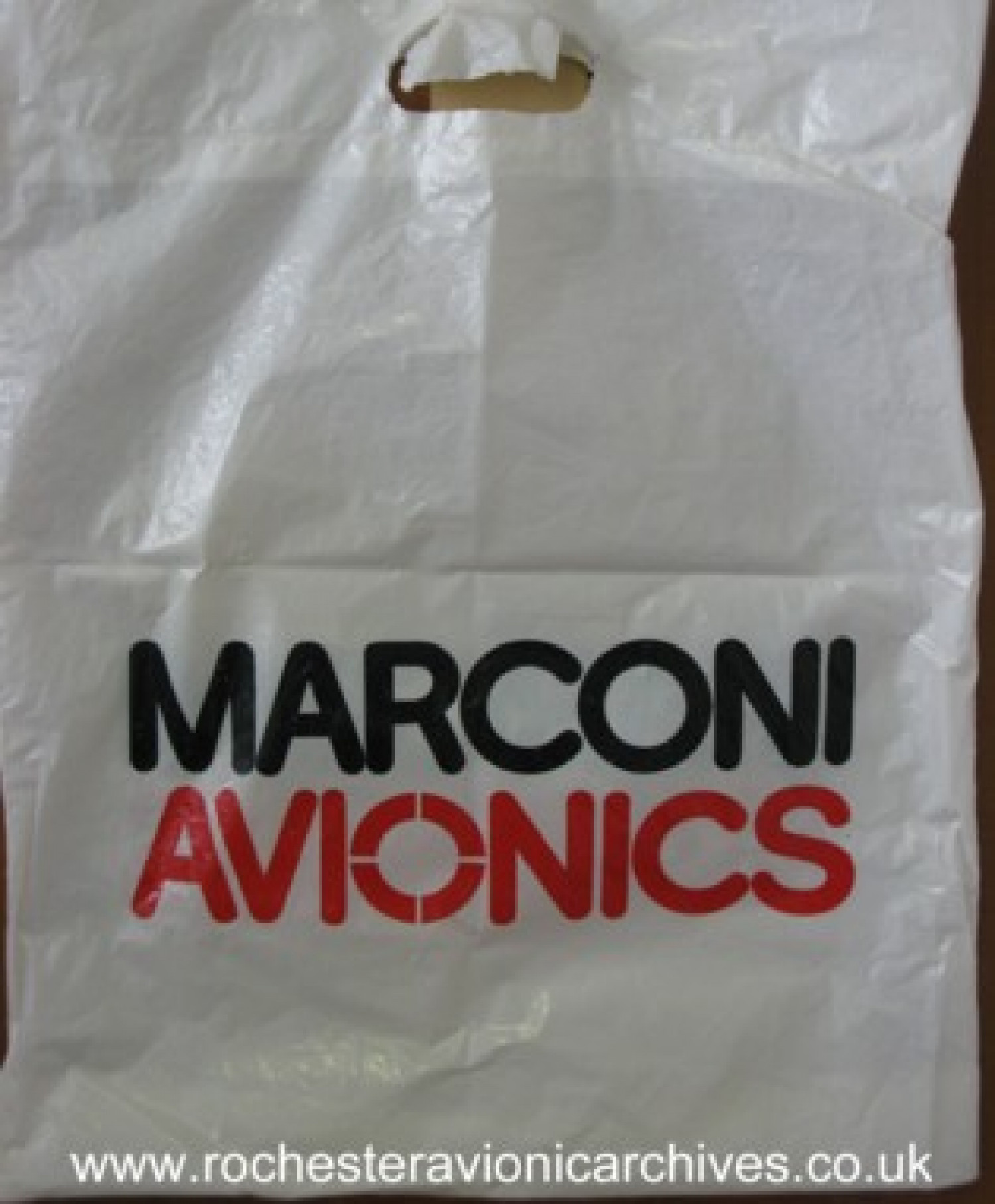 Marconi Avionics Carrier Bag